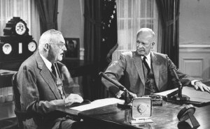 truman and eisenhower doctrine in middle In the eisenhower doctrine, the president committed the united states to replacing britain as the guarantor of stability and security in the middle east that obligation remains the cornerstone of american policy.